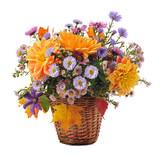 Fototapety bouquet of autumn flowers