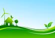 Fond maison éolienne