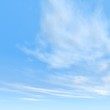 high resolution 3d blue sky background with white clouds