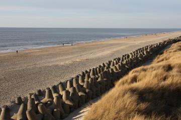 Tetrapoden am Strand von Sylt