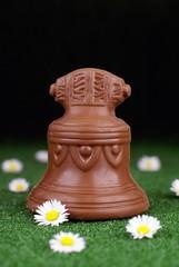cloche en chocolat - Pâques