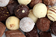 Pralines Close-up