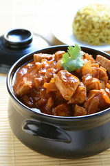 Vindaloo Indian Chicken Curry