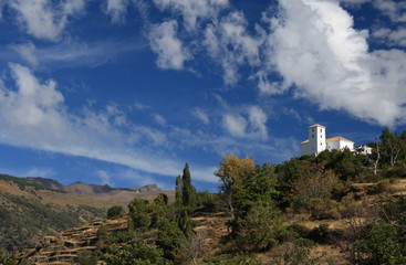 church in Bubion - Alpujarras, Spain