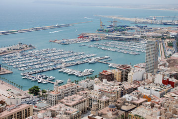 Alicante yacht port