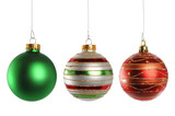 Fototapety Christmas Ornaments