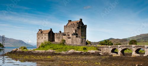 Leinwanddruck Bild Eilean Donan Castle
