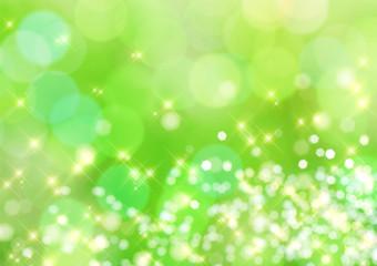 パステルグリーンの光の背景