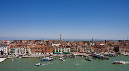 Venice Lagoon and Canal
