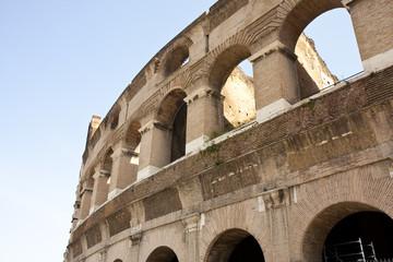 Old Stones in Roman Coliseum