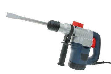 Bohrhammer mit Meißeleinsatz 012