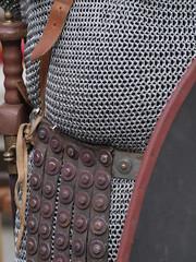 Cota de mallas de legionario romano