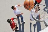 Fototapety street basketball