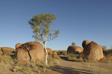 Devils Marbles north of Alice Springs