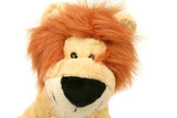 Plush lion king poster