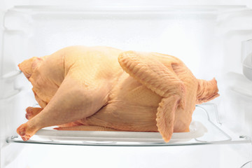 Raw turkey