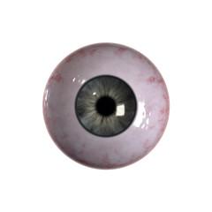 Bloodshot green blue Eyeball