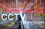 CCTV word cloud box package poster
