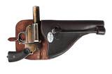 German flare gun poster