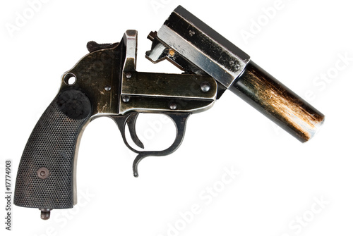 poster of German flare gun
