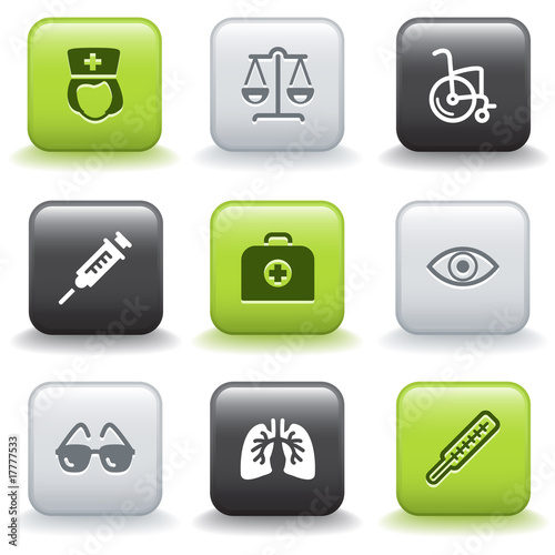 Icons with buttons 13