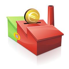 Investir em empresas Português