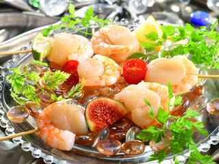 brochette fruits de mer