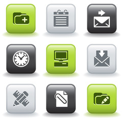 Icons with buttons 27