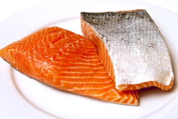 Salmon Fillets with Skin