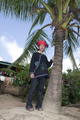 Asiatischer Mann von Laos, Volksgruppe Yao