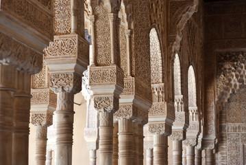 Columns at Alhambra