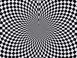 black and white hypnotic wallpaper background