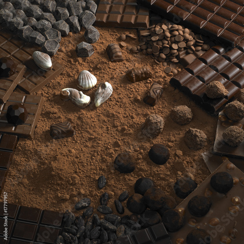 chocolate still life