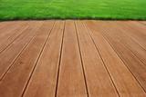 Hardwood terrace poster