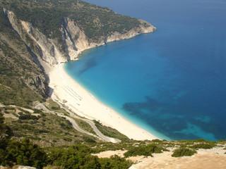 Myrtos Beach Kefallonia Greece