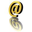 Posta Elettronica-E-Mail Symbol 3D