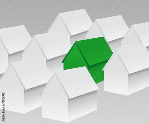 maison verte écolo