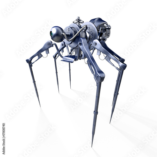 Mechanical spider - robot