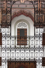 Balkon z domu muzyki w Fez, Maroko