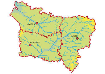 Plan de Picardie