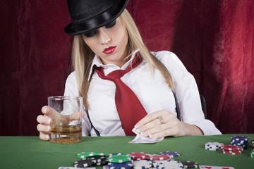 gambling girl