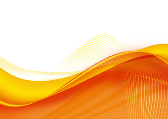 abstract artistic orange 3-d wallpaper