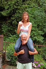 Il nonno e la nipote