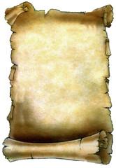 Diploma - Pergaminho - Escritura