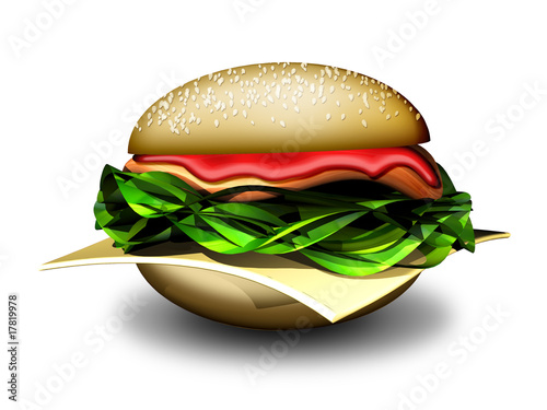 Panino-Hamburger-Sandwich