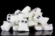 A pile of dead white ghosts