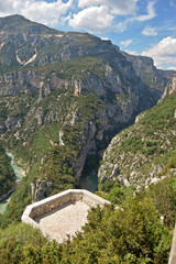 Viewing platform Gorges du Verdon