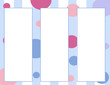 Blue Poke-A-Dots Background With Panels