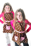 twins in aprons poster
