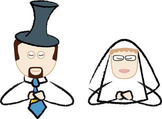 Matrimonio#04 - Preghiera in chiesa